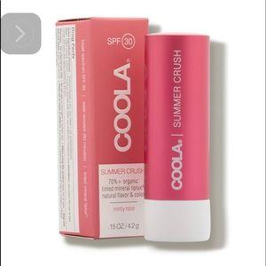 Coola Organic Tinted Lip Balm SPF30 - summer crush